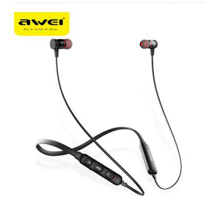 awei G10BL Stereo Bluetooth Wireless Sports Headphones Neckband Wireless Microphone Noise Reduction