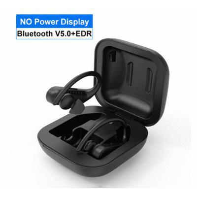 B1 Bluetooth 5.0 Waterproof Sports Headphone Ear Hook Stereo Headphone for iOS and Android