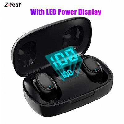 Wireless Bluetooth 5.0 Headset 6D Stereo Headset Touch Mini Earbuds