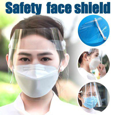 Transparent Face Protection PVC Anti-Fog Anti-Saliva And Anti-Bacterial Mask