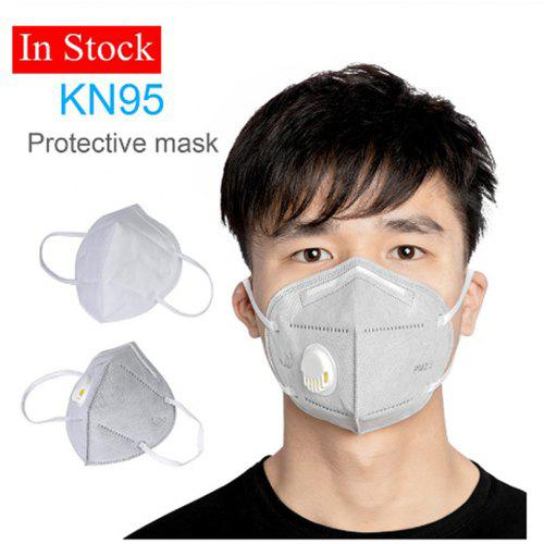 KN95 PM2.5 Mask With Breathing Raft Mask Dust Mask 3 Iayers