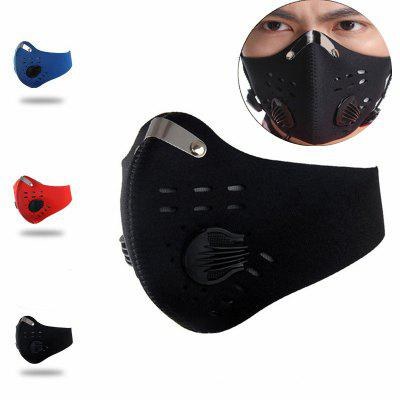 Activated Carbon Dust-Proof Cycling Mask Outdoor Running Anti-Pollution Training Mask