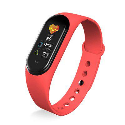 The New M5 Male And Female Smart Watch Bluetooth Sports Watch is Suitable For iPhone Android