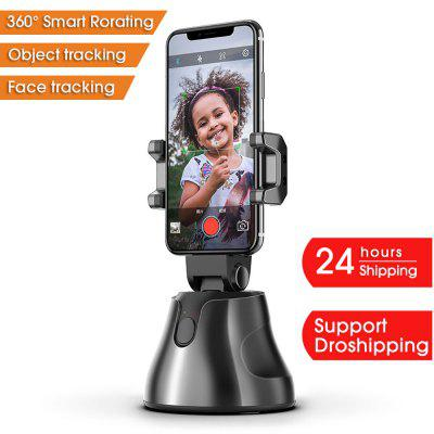 Фото - Apai Genie Automatic Smart Shooting Selfie Stick 360° Object Tracking Bracket Rotating Full Face Tracking Camera Mobile Phone Stand pt 75x xy mobile platform 360 degree rotating platform manual rotaion stage optical table travel range 75mm x 55mm