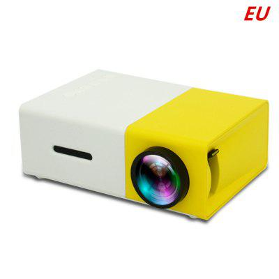 YG-300 Mini LCD Full HD Video Projector For Home Theater Media Player