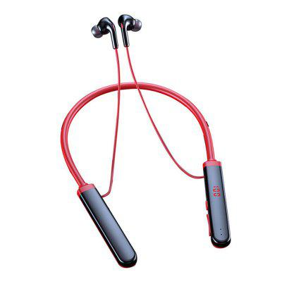 The New Wireless Bluetooth 5.0 Neck-worn Digital Business Sports Headset Supports Card Long Standby