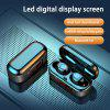 V7 Wireless Bluetooth 5.0TWS With HIFI 8D Stereo Digital Display And Wireless Sports Earplugs With Microphone