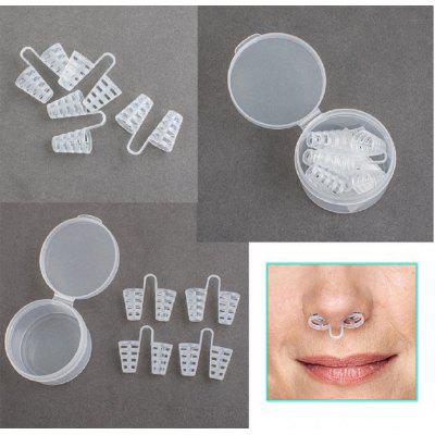 Carejoy 4 Pcs Anti Snoring Nasal Dilator Nose Clip Sleep Aid