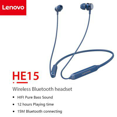 Lenovo HE15 ultra-long noise reduction standby ultra-long talk IPX5 waterproof sports earphone