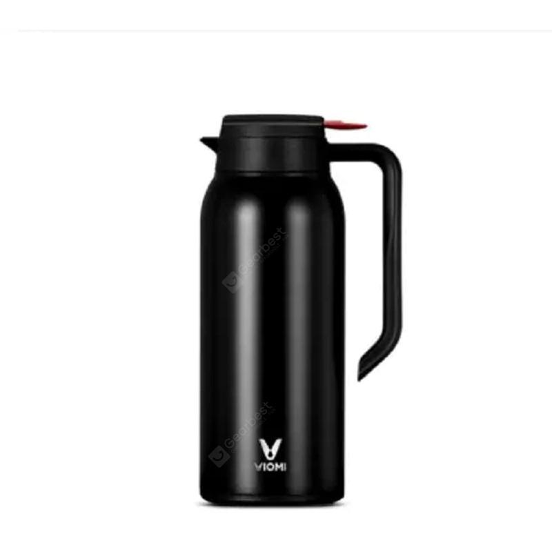 VIOMI Large Capacity Vacuum Flask Portable Kettle from Xiaomi - 1000-1500ml Black China