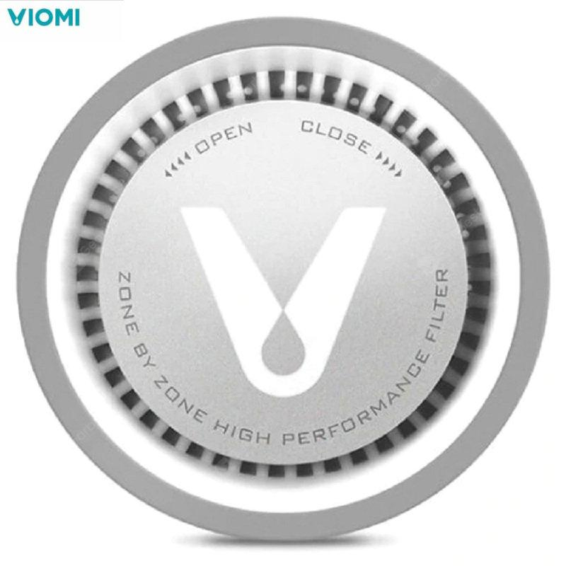 VIOMI VF1-CB Kitchen Refrigerator Air Purifier Sterilizing Deodor Device Flavor Filter Core - Silver China 1pc Other