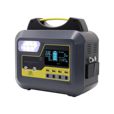 BOSSCAT AY-006 500W Outdoor Portable Power Station UPS with DC AC USB Output Port