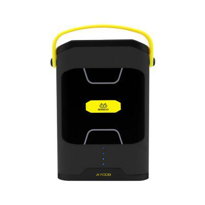 BOSSCAT AY-008 100W Outdoor Portable Power Bank UPS with AC USB Output Port