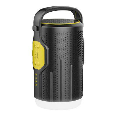 BOSSCAT AY10 Outdoor Portable LED Camping Lantern with Bluetooth Speaker 10000mAh Power Bank
