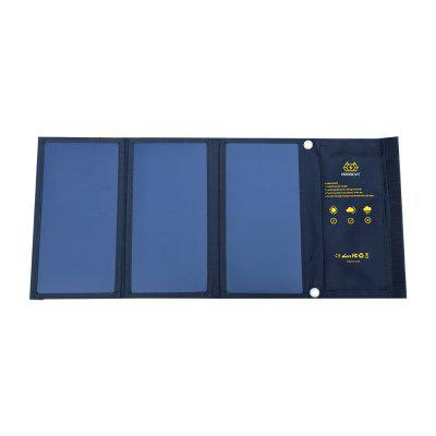 BOSSCAT AY-S021 21W Outdoor Foldable Solar Panel with USB Port
