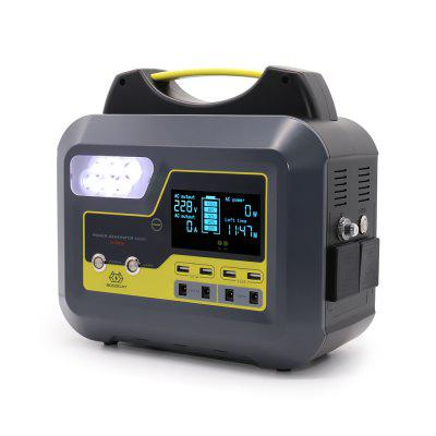 BOSSCAT AY-006 500W Outdoor Portable Power Station UPS with AC DC USB Output Port Detachable Battery