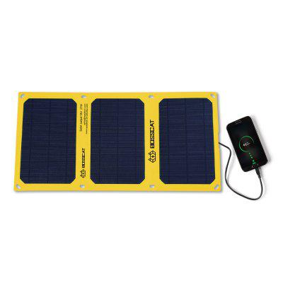 BOSSCAT AY-S021B 21W Outdoor Foldable Solar Panel with USB Port