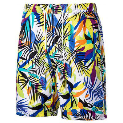 Men Board Shorts Beach Shorts Male Swimwear Casual Hawaiian Style Summer Cool Pants