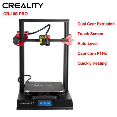 Creality  3D Printer CR10S Pro  Auto Leveling Touch Screen Capricorn PTFE Bondtech Extruder Gears