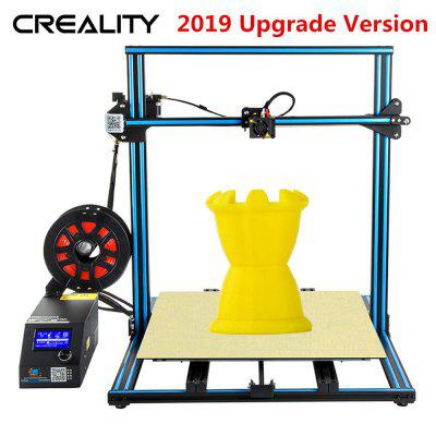 Creality CR-10S S5 3D Printer Dual Z Large DIY kit with Filament Sensor 500x500x500mm  Blue