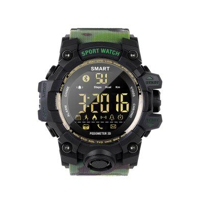 EX16S Men Camouflage Bluetooth Smart Sports Watch Health Sports Monitoring For Android And IOS