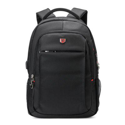 SWIMADE Anti-Theft Laptop Backpack 15.6 Multifuncation Business Backpack With USB Charging Port