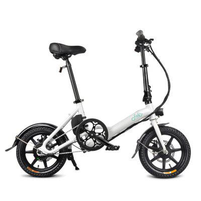 FIIDO D3 Folding Electric Bike Power Assist Variable speed Version Aluminum Alloy Bicycle 7.8Ah 36V Image