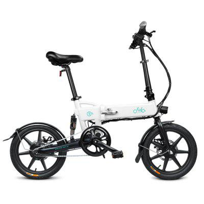 FIIDO D2 Folding Electric Bicycle Moped E-Bike 250W 7.8Ah  Aluminum Alloy Bike Image