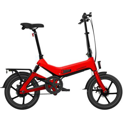 SAMEBIKE JG7186 Folding Electric Moped Bike 250W Motor 25KM Per Hour Image