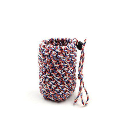 Yougle 550 Paracord Parachute Cord Water Bottle Holder Carrier Vase Jardiniere Pen Container