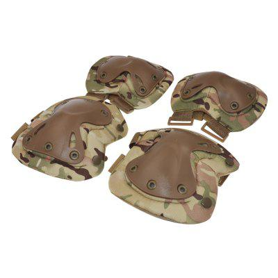 Yougle Tactical Paintball Protective Protection Knee Pads Elbow And Pads Protector Gear Hunting