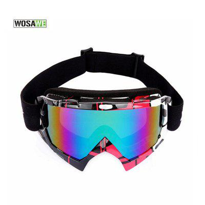Yougle Snow Skiing Snowboard Snowmobile Anti-fog Goggles Windproof Glasses UV Protection Sunglasses