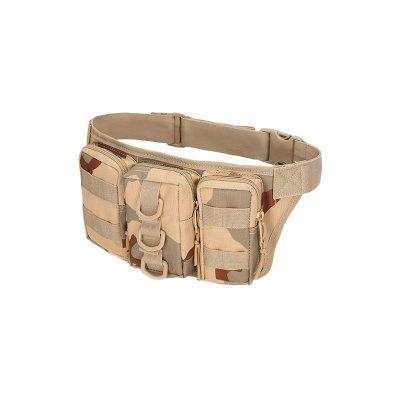 Yougle Waterproof Camo Camouflage Running Military Pockets New Kettle Waist Pack Bags