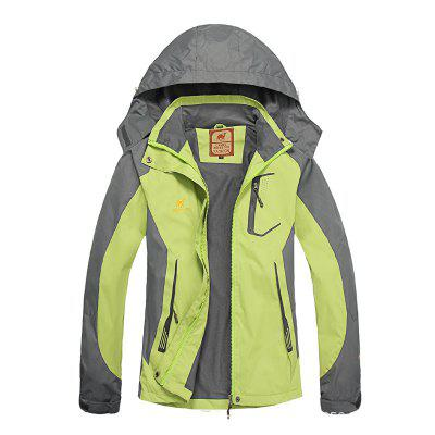 Yougle Women Windproof Camping Climbing Jacket Coat Top Outwear Windbreaker Sports Apparel Tracksuit