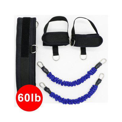 YOUGLE 60lb Resistance Bands Fitness Bounce Trainer Rope Yoga Leg Strength Agility Training Strap