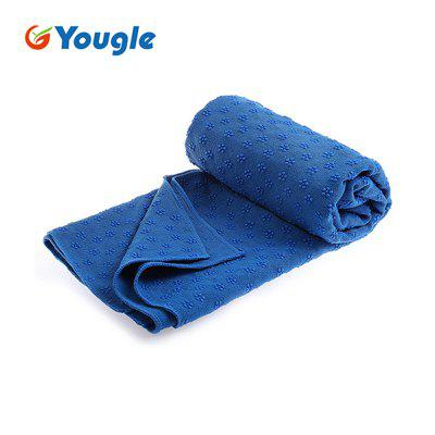Yougle Non Slip Yoga Mat Cover Towel Anti Skid Microfiber Yoga Shop Towels Pilates Blankets Fitness
