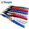 YOUGLE  Aluminum Fishing Plier Scissors Hook Remover Fish Line Cutter Tackle Sheath