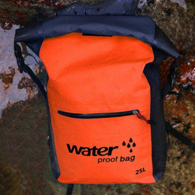 Outdoor Swimming Bags Waterproof Dry Bag Folding Knapsack Double Shoulder Strap Backpack