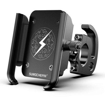Aluminum Universal Motorcycle Bicycle Bike Handlebar Mobile Cell Phone Holder Carrier Stand Support