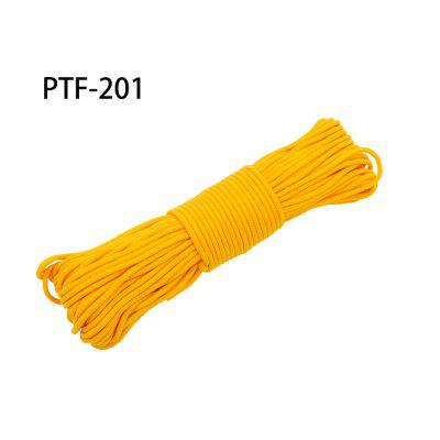 100FT 300LB 4 Strands Paracord Parachute Cord Lanyard Guyline Tent Rope For Outdoor Camping Bracelet