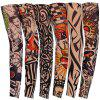 Men Women Tattoo Sleeve Sun-proof Cool Warm Elastic Seamless Cycling Art Sleevelet For Arm Leg