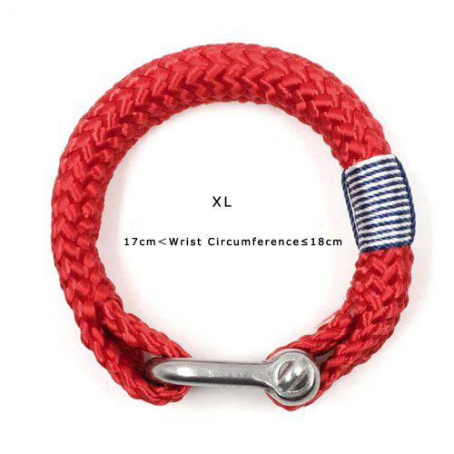 BRT-N514 Nautical Braided Bracelet Hand-made Yachting Rope Military  Paracord Bracelet Wristband