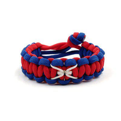 New Spider Series Adjustable Survival Emergency 550 Paracord Bracelet Parachute Cord Bracelet