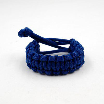 Adjustable Survival Emergency 550 Paracord Bracelet Parachute Cord Bracelet For Camping Hiking