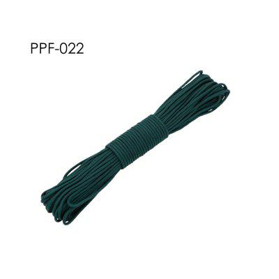 550 Paracord Parachute Cord Lanyard Tent Rope Mil Spec Type III 7 Strand 100FT 259 Color 13-24