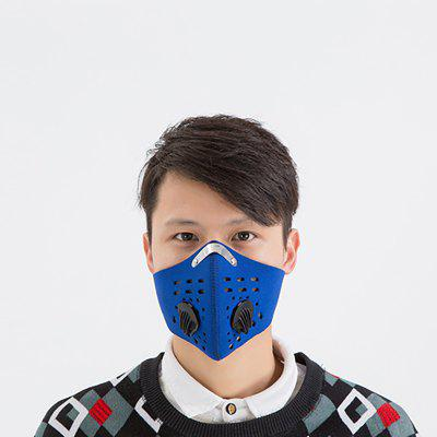Dustproof Anti-frog Cycling Mask PM2.5 Face Mask With Activated Carbon Filter Cycling