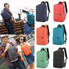 New Fashion Unisex Solid Backpack Bag for Daily and Travel Use