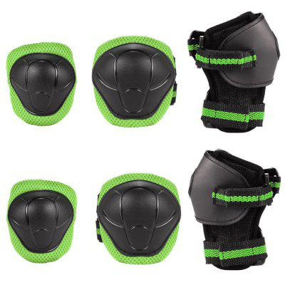 Kids Protective Gear Bike Electric Balance Car Twist Car of Knee Care Elbow Wrist 6pcs Set