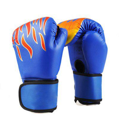 Unisex Adult Boxing Gloves Grappling Fighting Punch Bag Training Glove Pads
