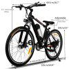 26 Inch 250W 21 Speed Powerful Electric Bike City Road Electric Mountain Bicycle